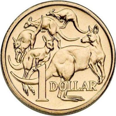 Australian 1 dollar coin