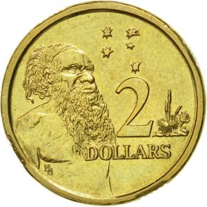 Australian 2 dollar coin
